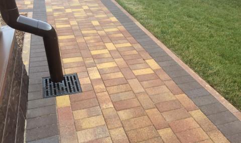 мощение тротуарной плиткой спб
