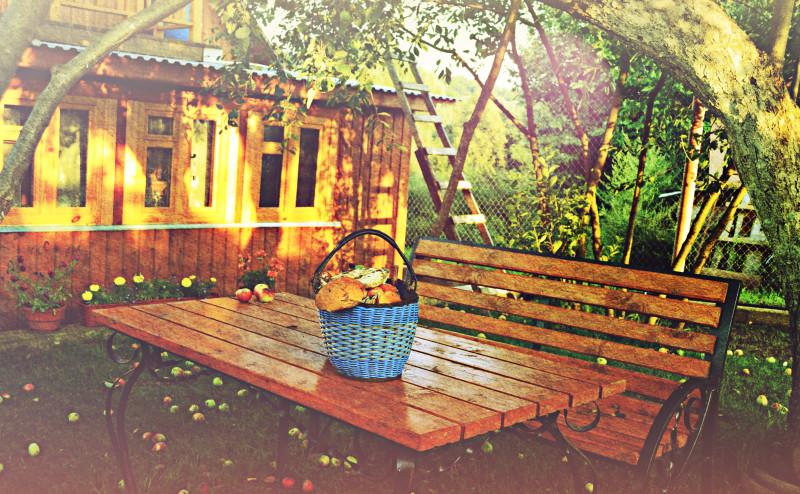 плодовый сад и декоративный огород
